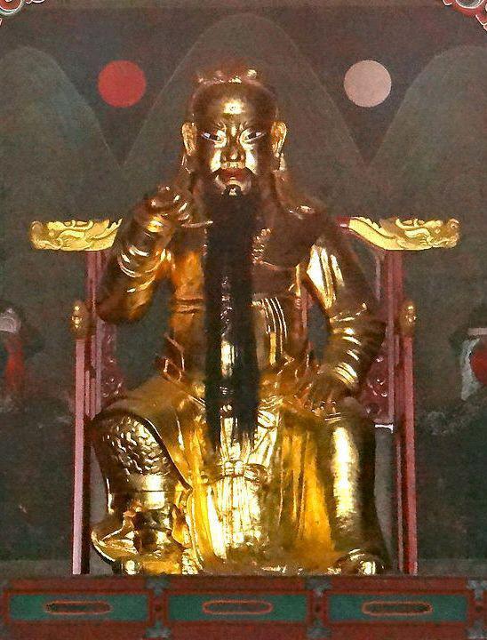 서울 동묘의 관우상.  필자 제공