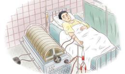 정수기 원리와 비슷… 전상자들 콩팥 치료에 활용