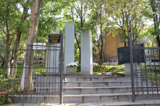 러시아 블라디보스토크 신한촌 기념비는 우리 선조들이  일제 치하 독립운동을 활발히 전개했던 역사적인 현장을 기리고자 세운 것이다.  필자 제공