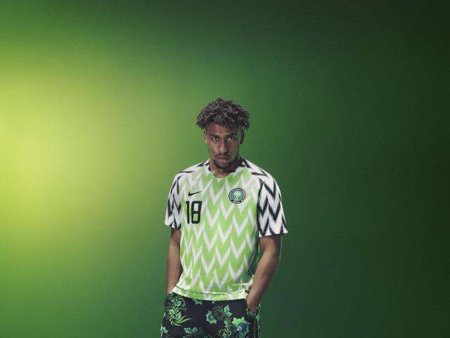 2018 러시아 월드컵에서 가장 주목받은 유니폼인 나이지리아의 홈 경기 유니폼.  사진=nike.com