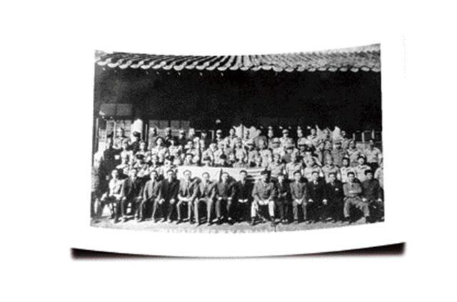 1945년 11월 11일, 손원일 제독은 70여 명의 동지와 함께 신사도와 충무공 정신으로 해방병단을 창설했다.  필자 제공