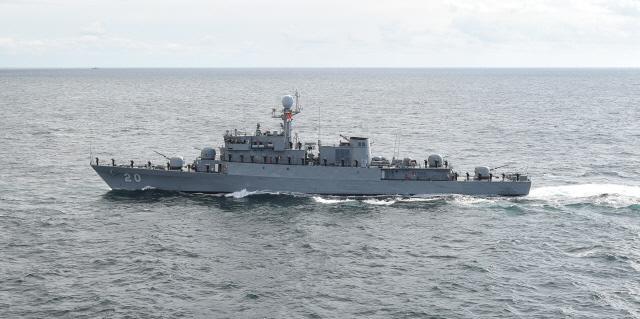 베트남 해군의 초계함(PCC) 타우20(Tau20)함.