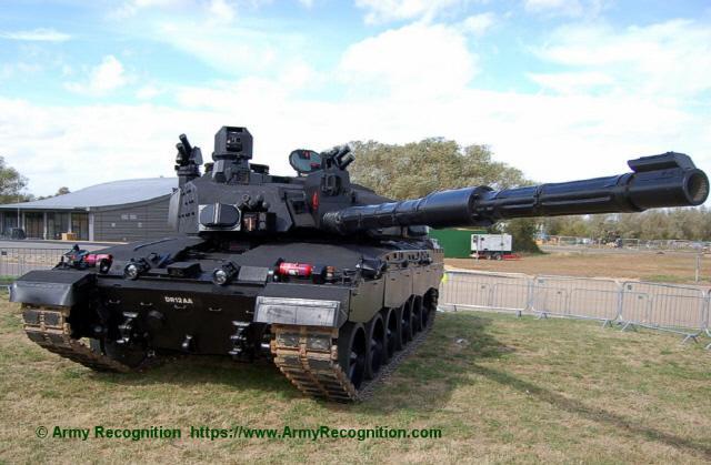 영국 챌린저-2 Mk2 블랙나이트 공개