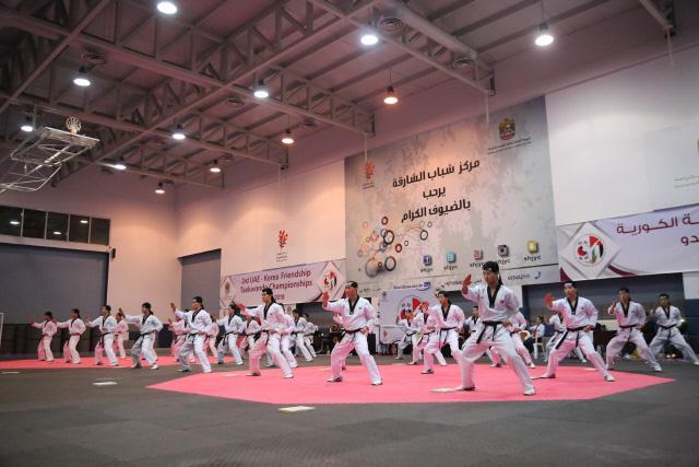 UAE 뒤흔든 태권도 함성