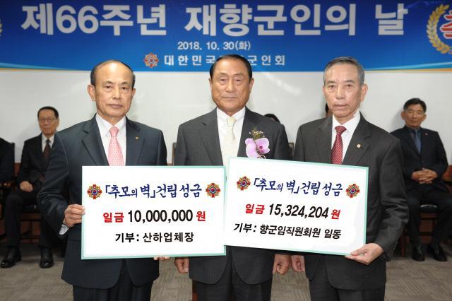 '추모의 벽' 건립 모금액 4500만 원 돌파