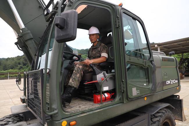 네 번째 무열 워리어 육군35사단 한주형 상사,