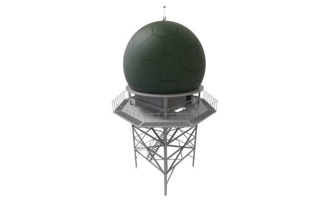 방위사업청이 LIG넥스원과 315억 원 규모로 체계개발을 시작한 '해상감시레이더-II'를 성공적으로 개발 완료하고 지난 9월 군에 전력화했다고 30일 밝혔다. 사진은 '해상감시레이더-II'의 외부 모습. [방위사업청 제공