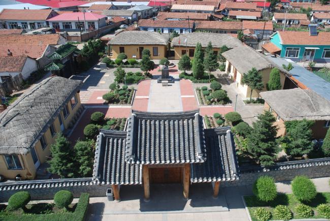 중국 흑룡강성에 복원된 산시진 순국지(금성정미소).  필자 제공