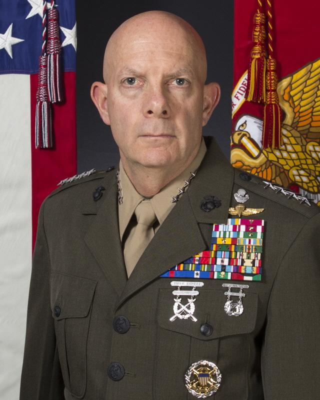 38th US Marine Corps Commandant General David Berger 사진: U.S. Marine Corps *https://www.marines.mil/Leaders/