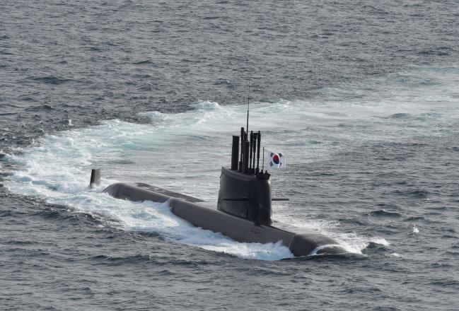 설계에서부터 건조까지 우리나라의 기술로 완성한 3000톤급 중형잠수함 도산안창호함. 부대 제공