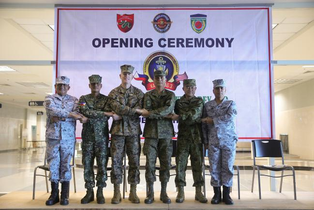 "Opening Ceremony of ""Kamandag-3"" Military Exercise * 출처 : U.S. Indo-Pacific Command"