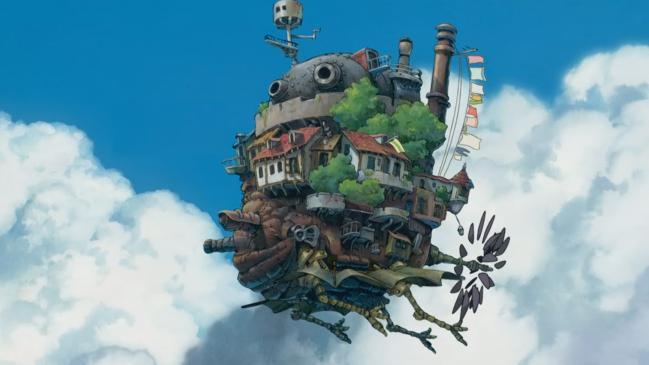 애니메이션 '하울의 움직이는 성'의 스틸 컷. 사진=스튜디오 지브리