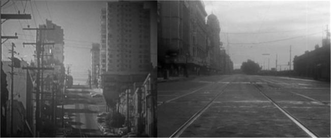 1959년 소설 『해변에서』를 원작으로 만든 영화 '그날이 오면'의 장면.  필자 제공