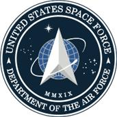 Seal of United States Space Force, USA  출처:https://commons.wikimedia.org/wiki/File:Seal_of_the_United_States_Space_Force.svg