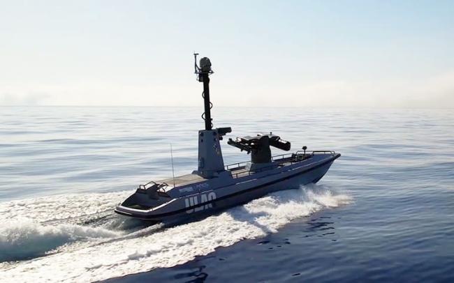 터키가 해군력 증강을 위해 고심하는 가운데 ULAQ 무장 무인 수상정을 이용한 미사일 발사시험을 성공적으로 마쳤다.  출처=unmannedsystemstechnology.com