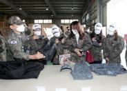[국방부] 품질부터 위생까지…해군 급식·피복 꼼꼼히 점검